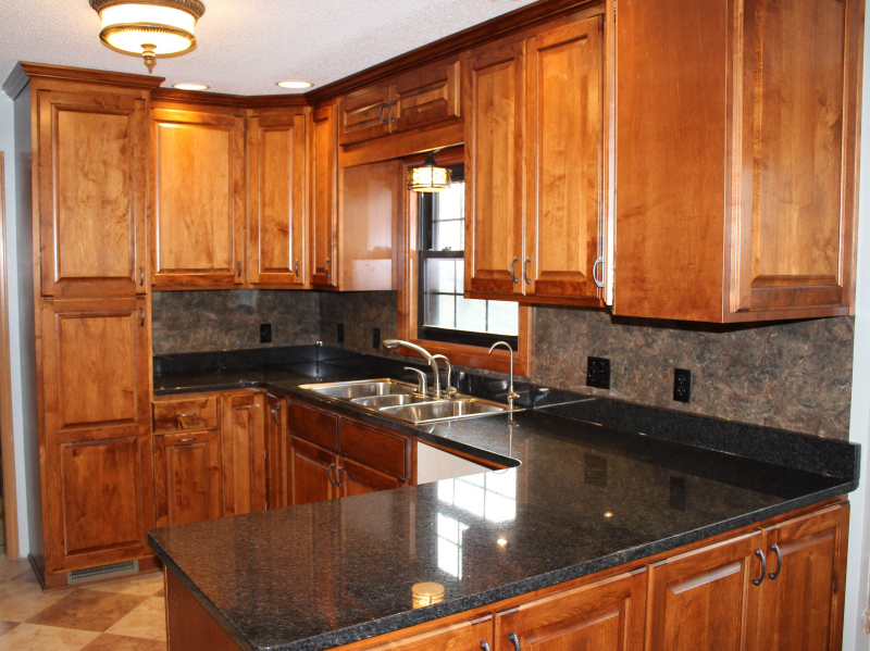 sinclair showcase canary cabinets